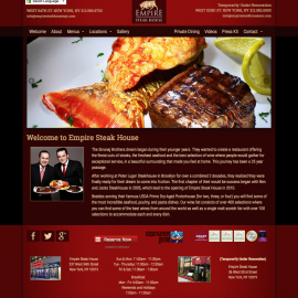 Empire Steak House NYC by Sean Tolentino