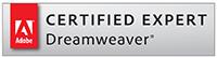Sean Tolentino - Certified Adobe Dreamweaver Expert